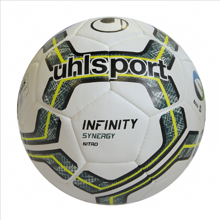 Infinity Synergy Nitro 2.0 White / Petrol / Fluo Lime (Size 5) Match / Training Ball